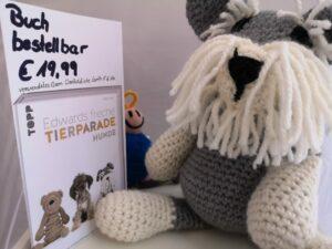 KundInnenprojekt gehäkelter Terrier aus Edwards frecher Tierparade