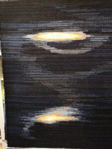 gewebtes Wandbild von Christian Seidenzahl
