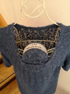 KundInnenrojekt Anker´s Summer Shirt Detail