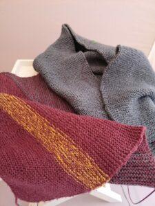KundInnenprojekt Schal im Zick-Zack-Muster