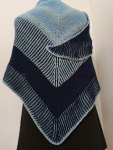 KundInnenprojekt Mermaids Winterdream Blautöne Rückansicht