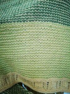 KundInnenprojekt Himinbjorg aus Lacegarn Details Muster